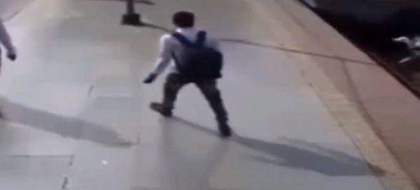 Никогда не играй с поездом наперегонки