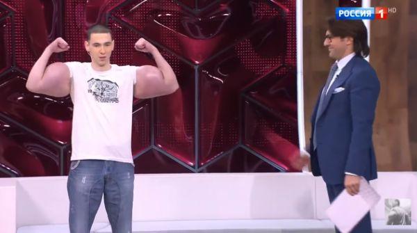 Фирменная двоечка Кирилла Терёшина в передаче Малахова
