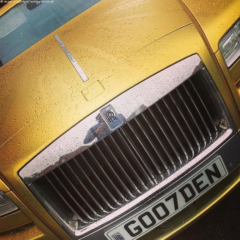 В Англии золотой Ролс Ройс выставили на продажу за 15 биткоинов
