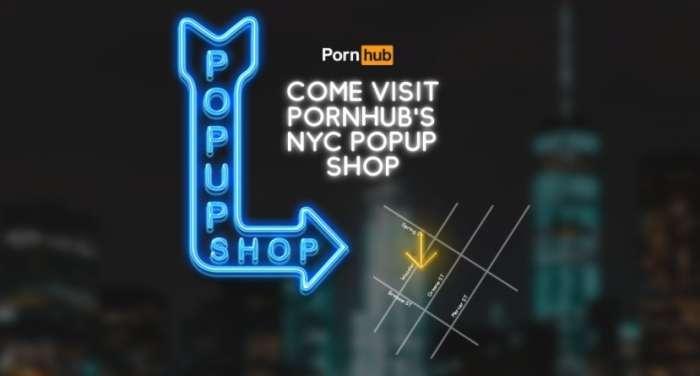 В США открылся первый бутик Pornhub
