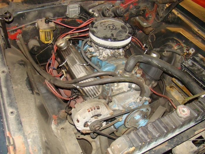 Фотоотчет о восстановлении мускул кара Plymouth Barracuda 1970 года