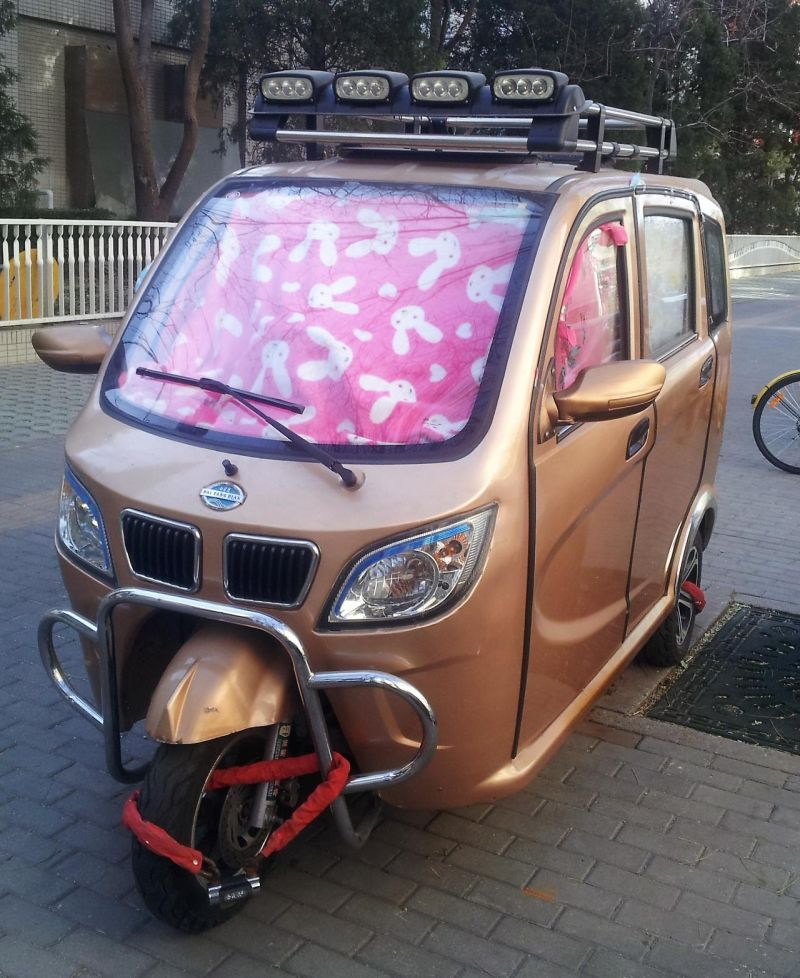 Пекинский дом на колесах