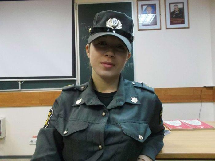Обезоруживающая красота русской полиции