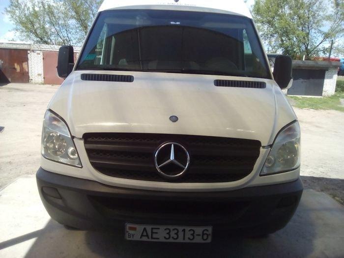 Тюнинг фургона Mercedes-Benz Sprinter