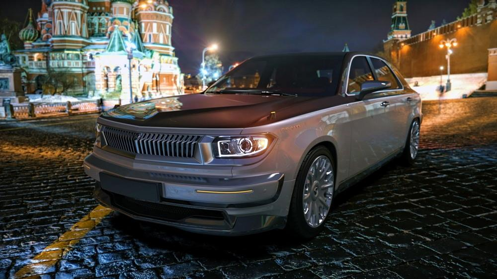 Лучшая дизайн-фантазия на тему ГАЗ-24