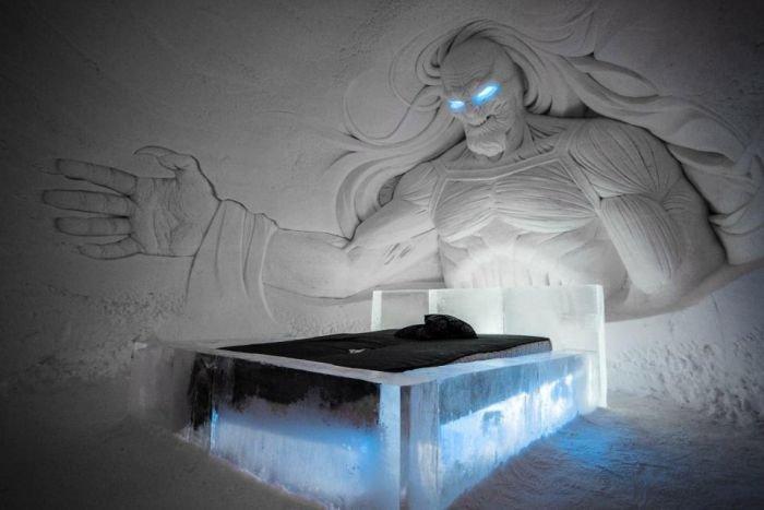 В Финляндии появился ледяной отель по мотивам сериала «Игра престолов»