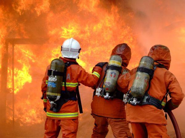 Отличная работа пожарных