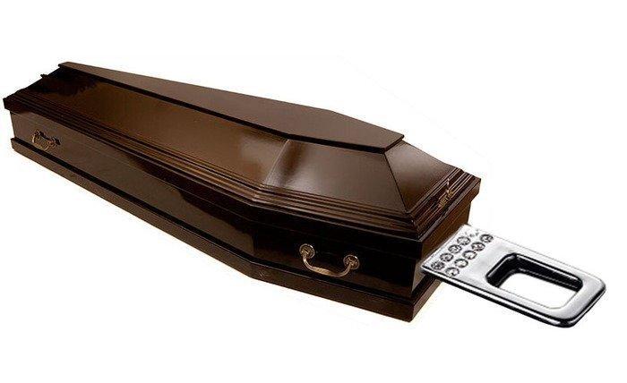 Черный кладбищенский юмор