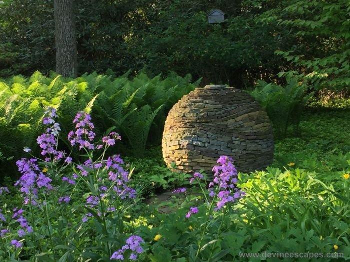 Каменные декорации без клея и цемента