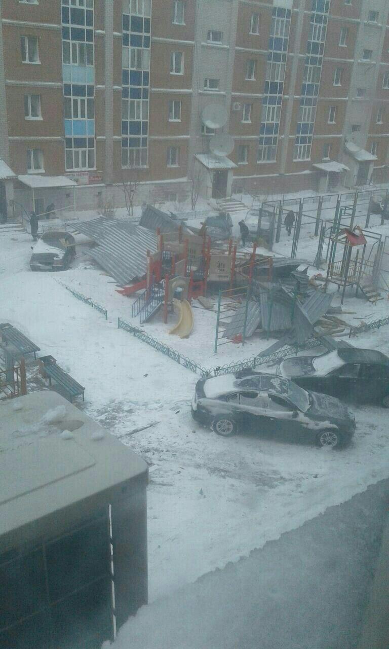 Зимний Армагеддон в Астане