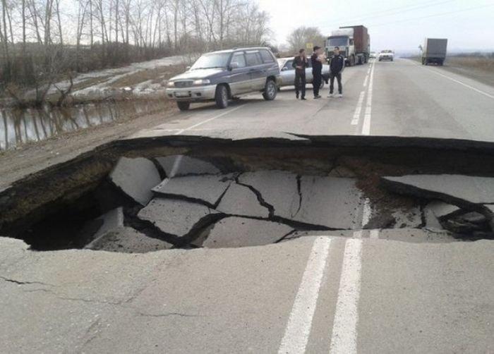 Жесть на российских дорогах