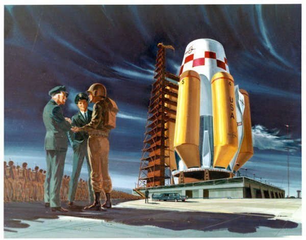 Ретро-футуризм от гениального инженера и художника Филипа Боно