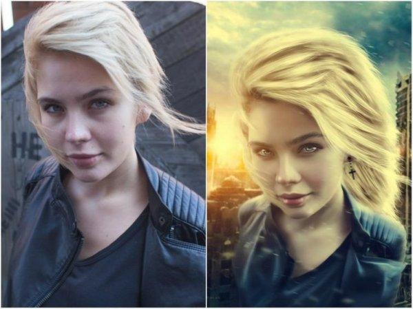 До и после: мастера фотошопа, превращающие обычные фотографии в потрясающие картины
