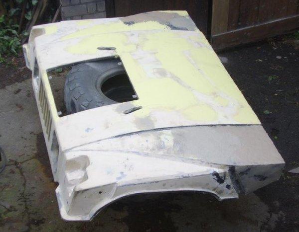 """Как из ГАЗ-66 сделали """"почти Хаммер"""""""