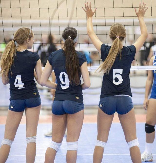 фото попки волейболисток какое количество
