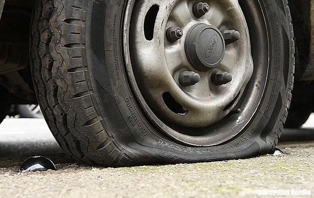 Спасительная кнопка против наглых водителей