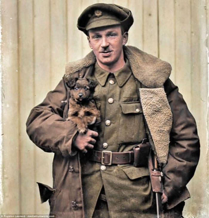 Окунуться в прошлое: цветные фотографии Первой мировой войны
