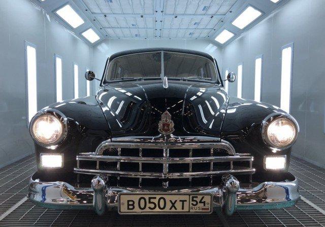 В Новосибирске продается уникальный ГАЗ-12 ЗИМ за 20 млн рублей