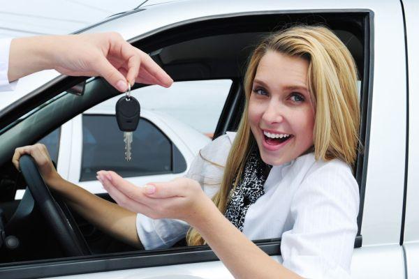 Как муж жену вождению обучал