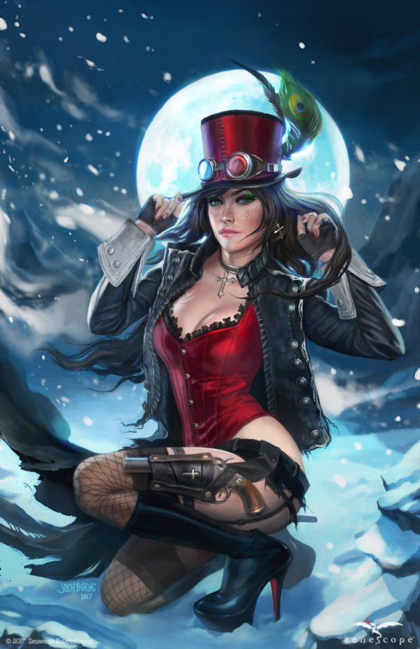 Liesel Van Helsing By On Goth Girls Steampunk Cosplay Yespornplease Com 1