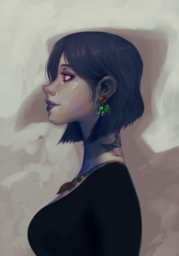 Нарисованная красотища