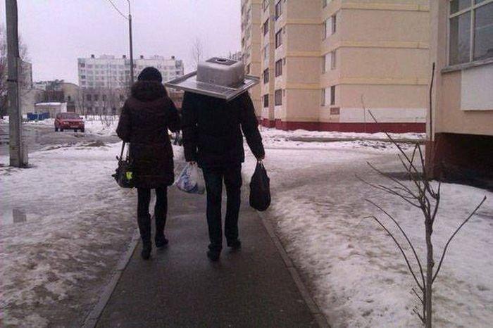 Смешные и странные фото из России