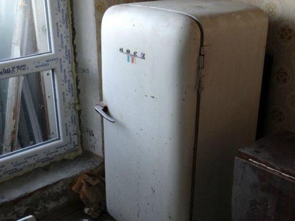 Холодильник тоже санки