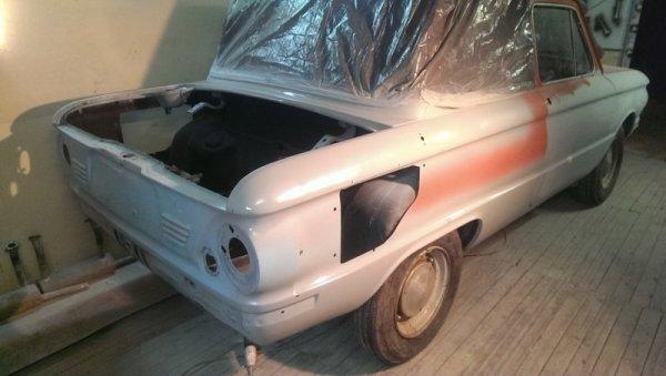 Реставрация ЗАЗ-968 (Запорожец ушастый)