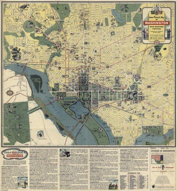 Географические карты как произведения искусства