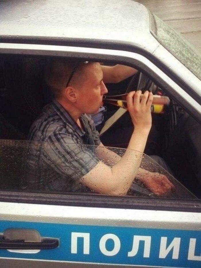 Неправильные фото с участием полиции