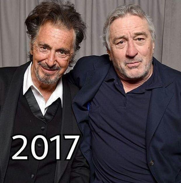 Как с годами менялись Аль Пачино и Роберт Де Ниро