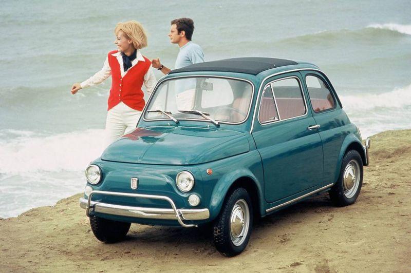 Клевая малышка - Fiat 500