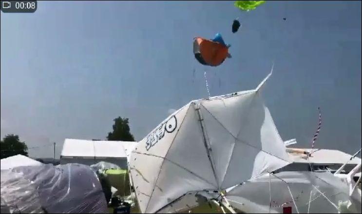 Летающая палатка