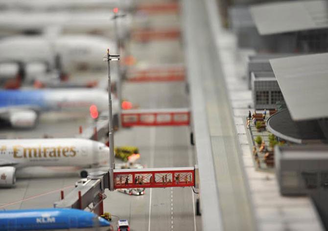 Крупнейшая в мире модель аэропорта