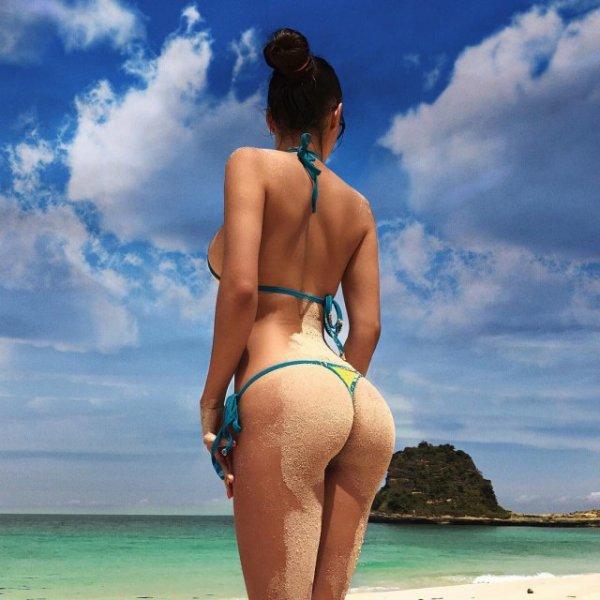 Очаровательный вид со спины