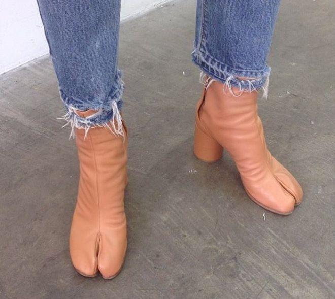 Странная дизайнерская обувь