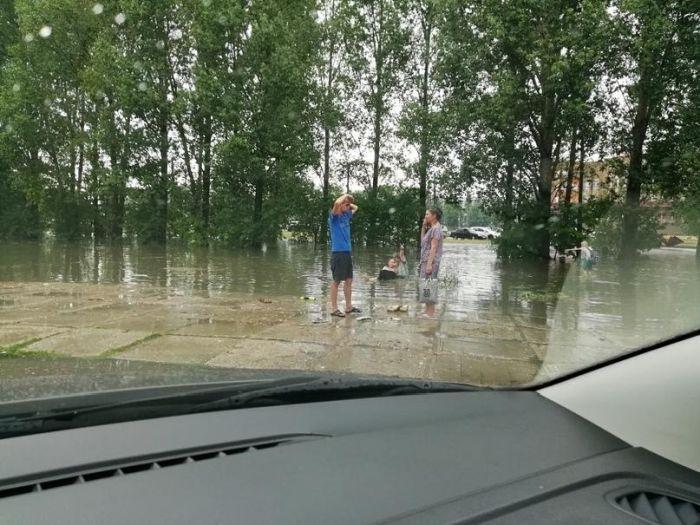 Тольятти после дождя прекрасен