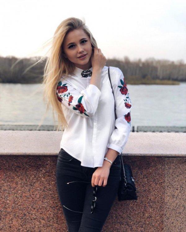 блондинки фото из соцсетей - 11