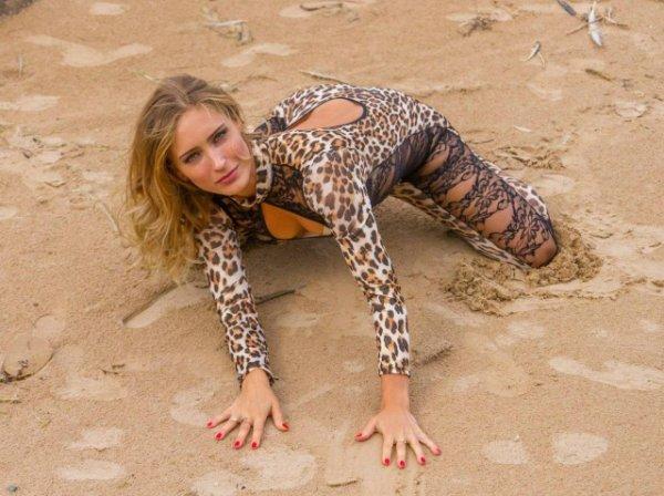 Славная была охота на леопарда