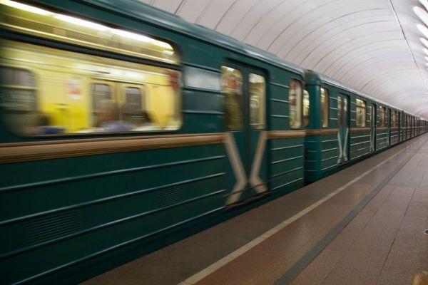 Пьяный попутчик в метро