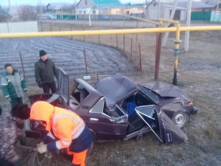 Свой автомобиль в хлам, но котика спас