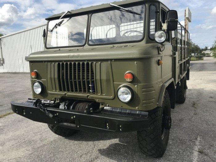 В США продают ГАЗ-66 1983 года, в очень неплохом состоянии