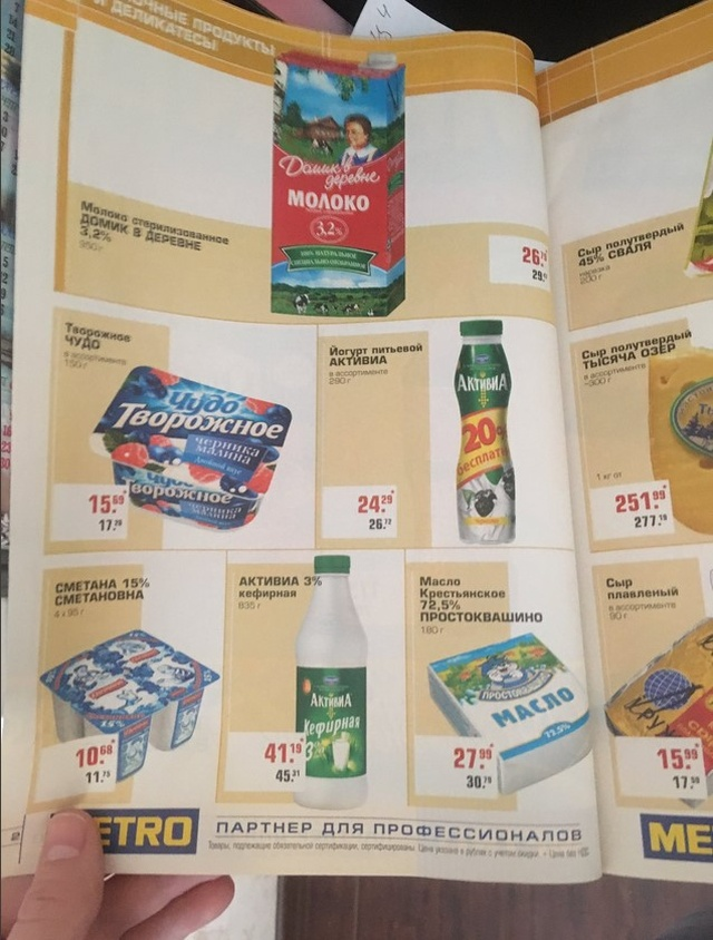 Цены в каталоге за 2009 год