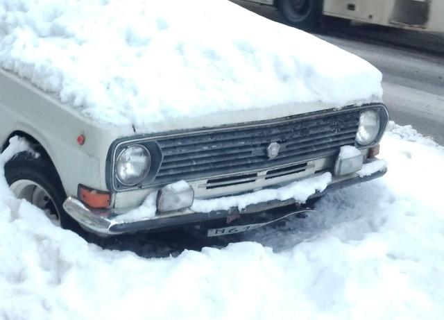 Припарковался на всю зиму?