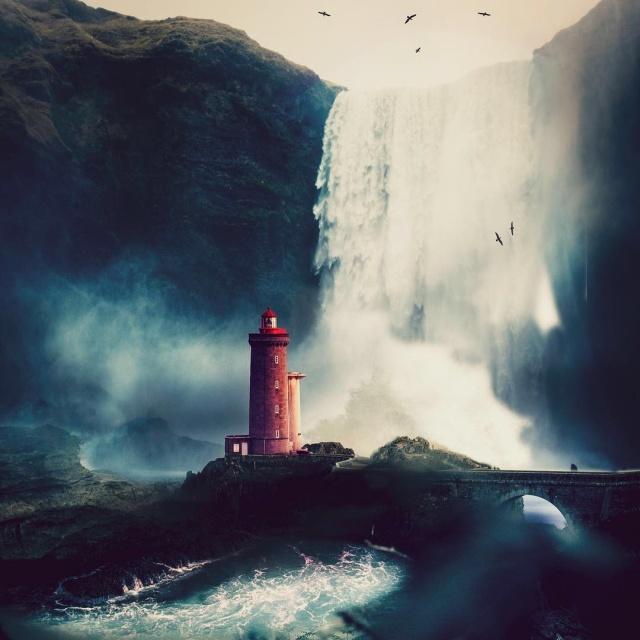 Креативные фотоманипуляции от Серхио де Ламо всячина