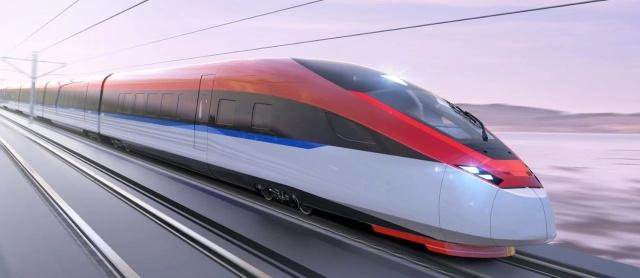 Китайский высокоскоростной поезд для российских железных дорог