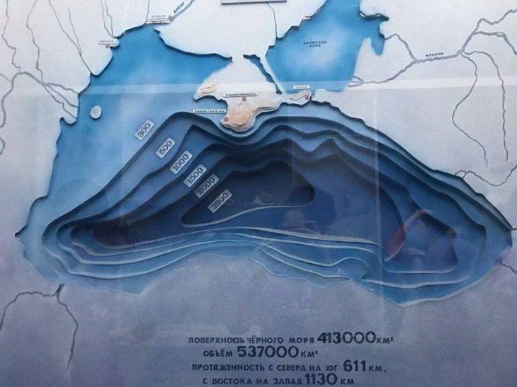 Черное море без воды