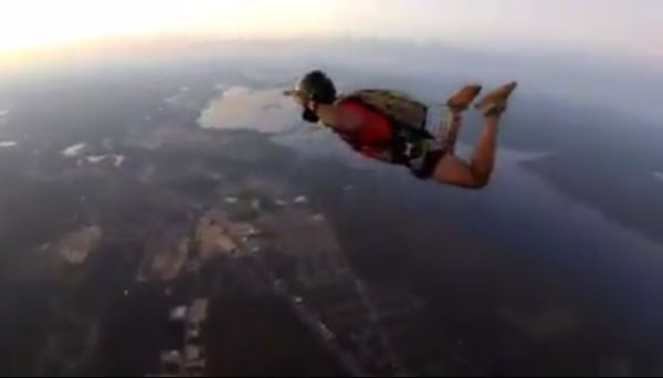 Борьба за собственную жизнь, когда не раскрылся парашют