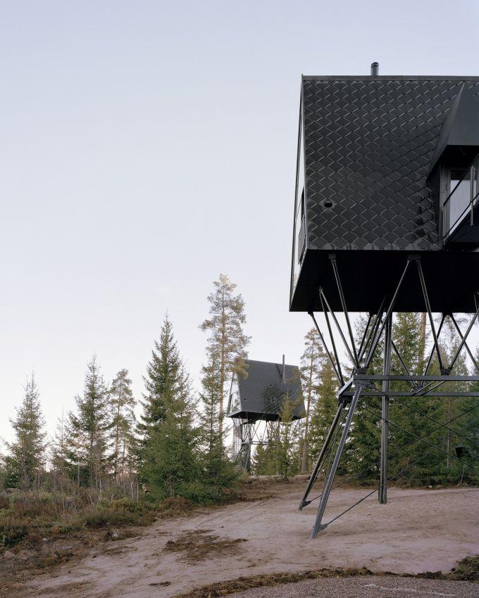 Лесные домики для отдыха в Норвегии
