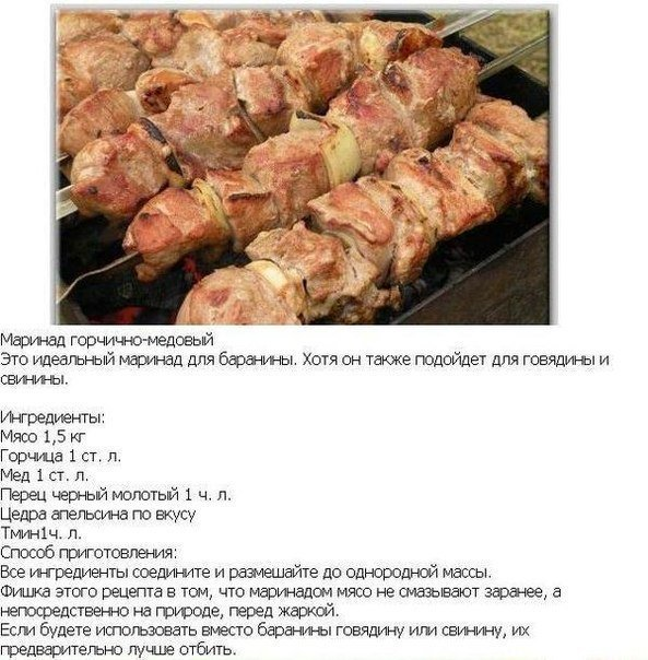 Крутые рецепты маринадoв